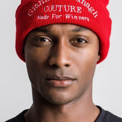 Red Beanie with GK Couture Logo