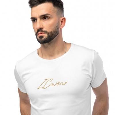 T-shirt Signature WhiteGold