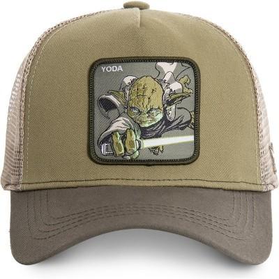 Boné trucker verde Yoda YOD Star Wars da Capslab