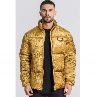 Gold Velvet Gems Coat Gianni Kavanagh