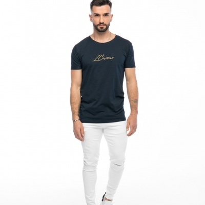T-shirt Signature BlueGold