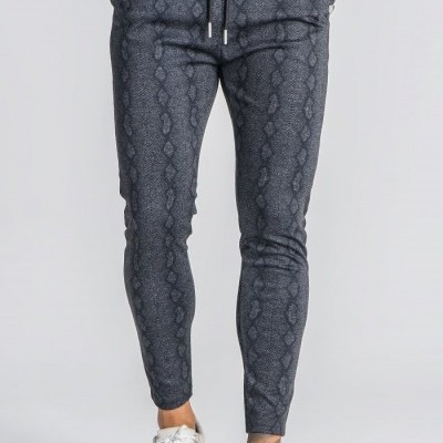 dark grey pants with silver GK medal from Oxford collection
