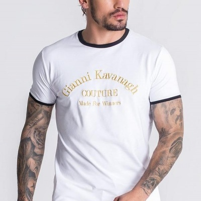 WHITE COUTURE CORE TEE Gianni kavanagh