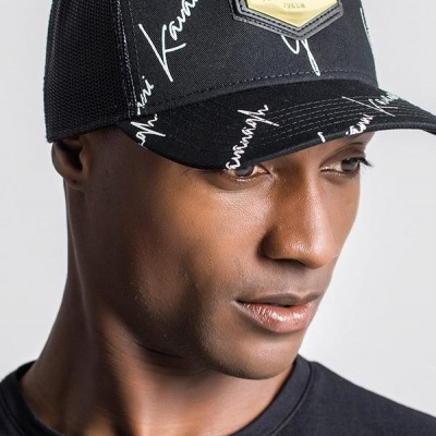 BLACK GK SIGNATURE CAP gianni kavanagh