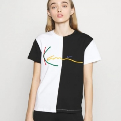 KARL KANI Signature Color Block T-Shirt