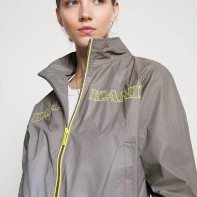 Karl Kani RETRO SHINY SHORT TRACKJACKET - Summer jacket
