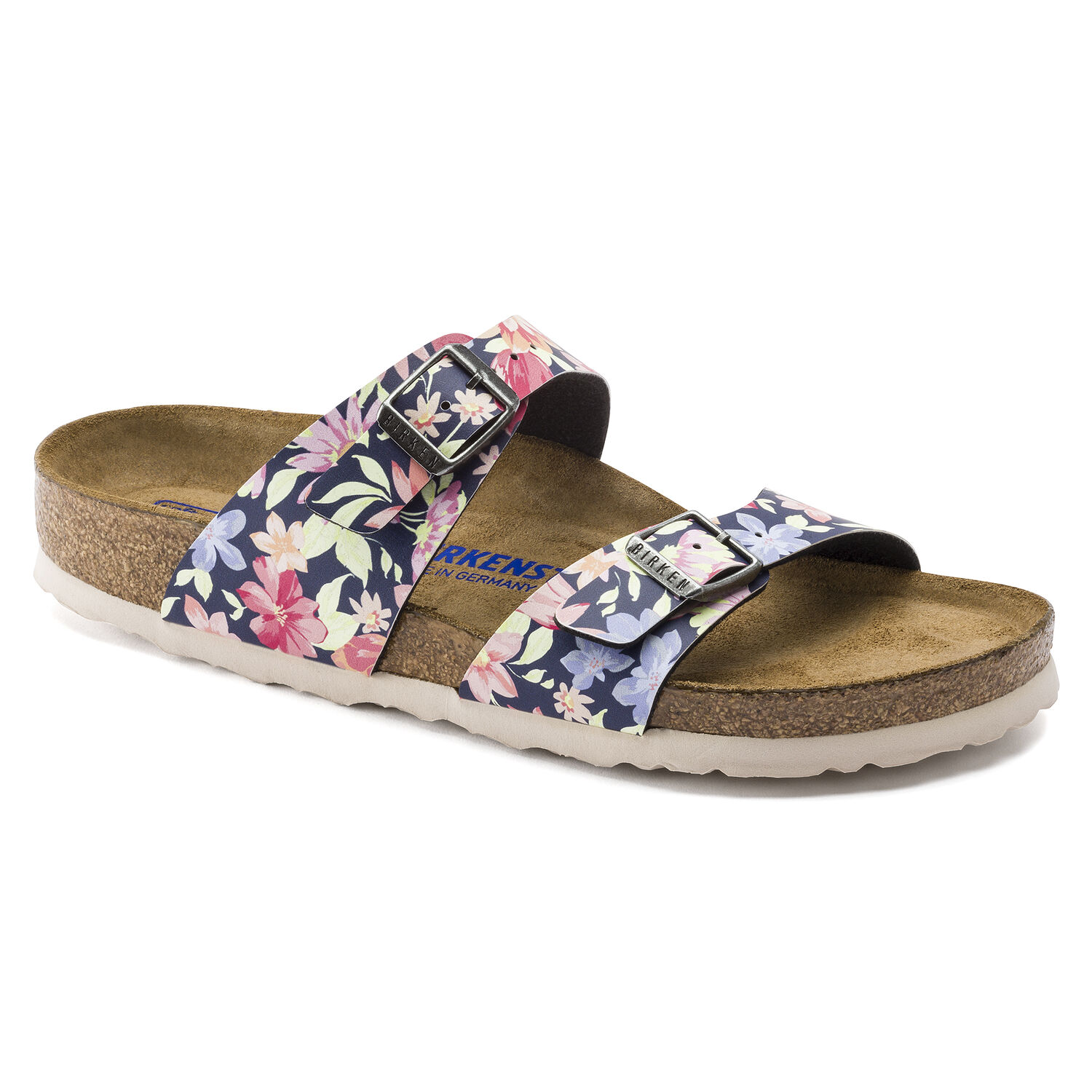 SIDNEY SUPERNATURAL FLOWERS NAVY (BIRKOFLOR)