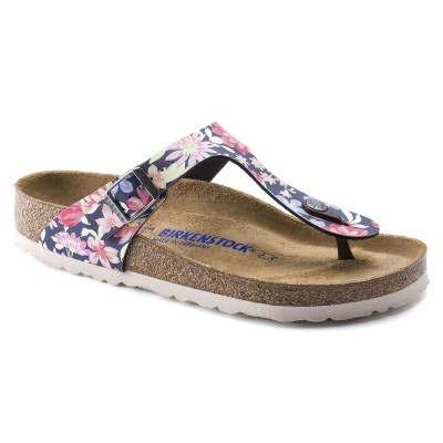 GIZEH SUPERNATURAL FLOWERS NAVY (BIRKOFLOR)
