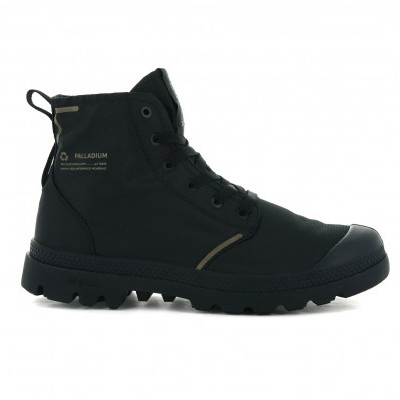 PALLADIUM PAMPA LITE+ RCYCL WP+ BLACK