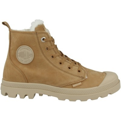 PALLADIUM PAMPA HI ZIP WL- DEAR BROWN