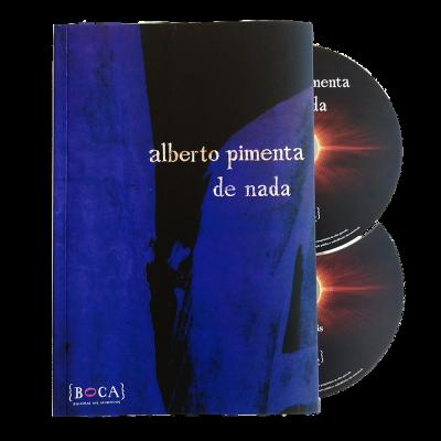 de nada (livro + 2 cds)