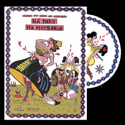 Há Fado na Mouraria (livro + cd)