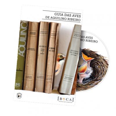 Guia das Aves de Aquilino Ribeiro (livro + cd)
