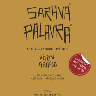 Pré-venda de Saravá Palavrá (livro + CD)