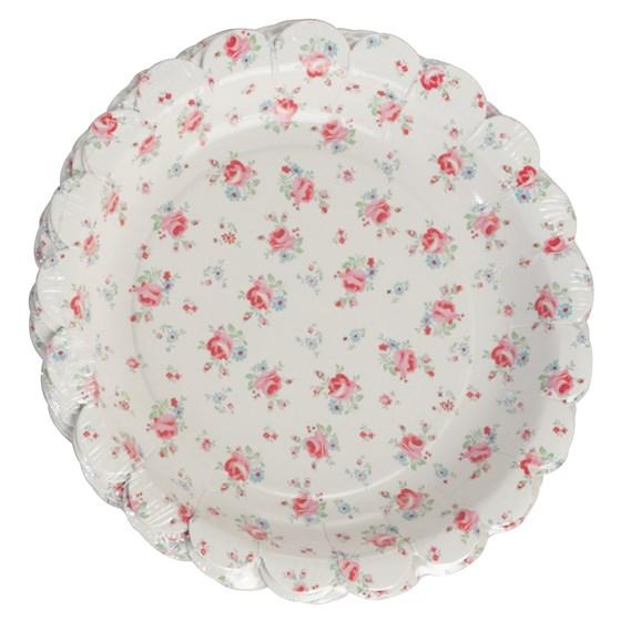 Pratos La Petit Rose - 18 cm