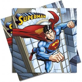 Guardanapos Super Homem - 20 unidades
