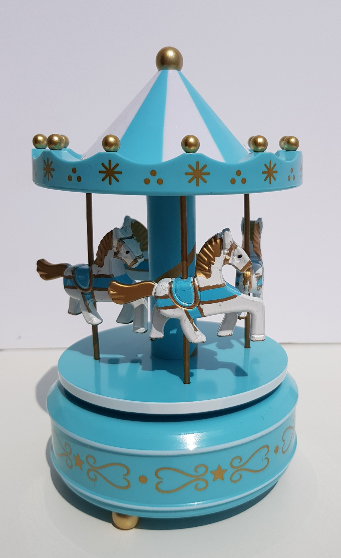 Carrossel Musical Azul