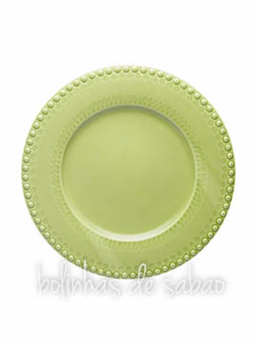 Prato Marcador 34 cm - Verde Alface