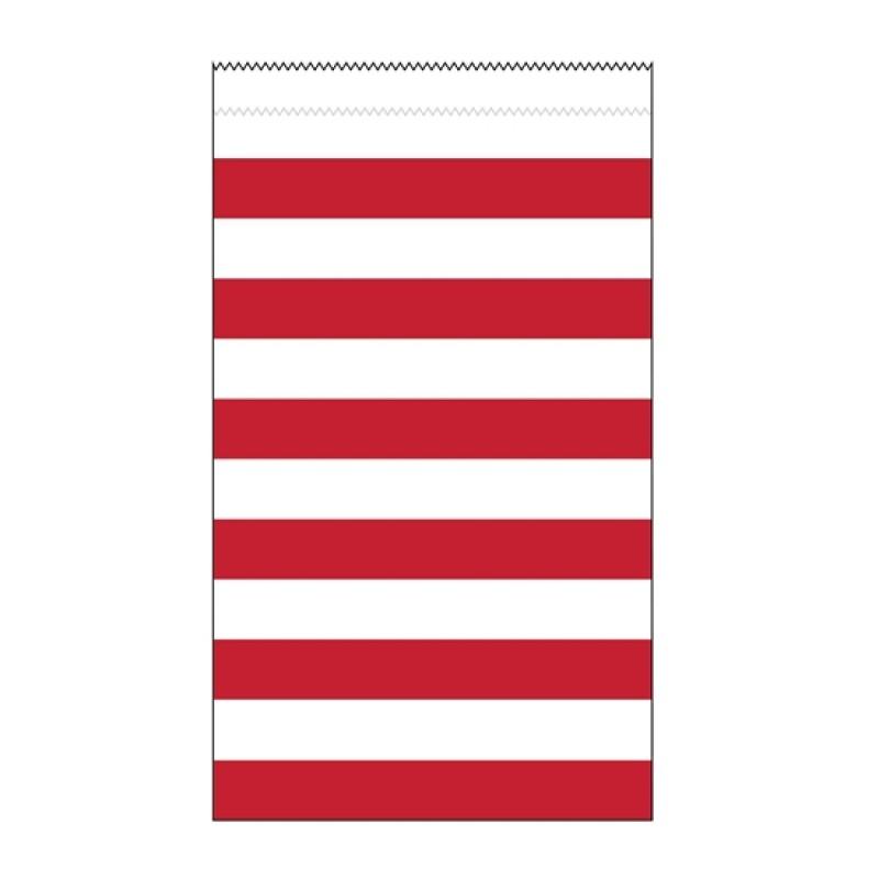 Saquetas Riscas 12 unidades - Vermelho