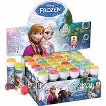 Bolinhas de Sabão - Frozen