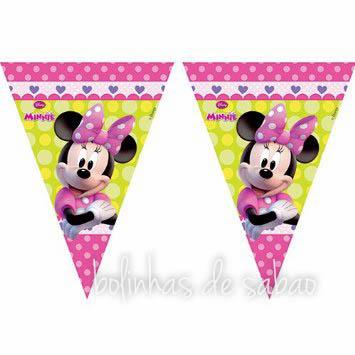 Bandeira Minnie Triangulo