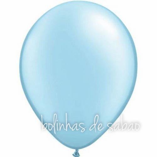 Balões Lisos 10 unidades - Azul