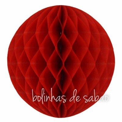 Honey Comb 30 cm - Vermelho