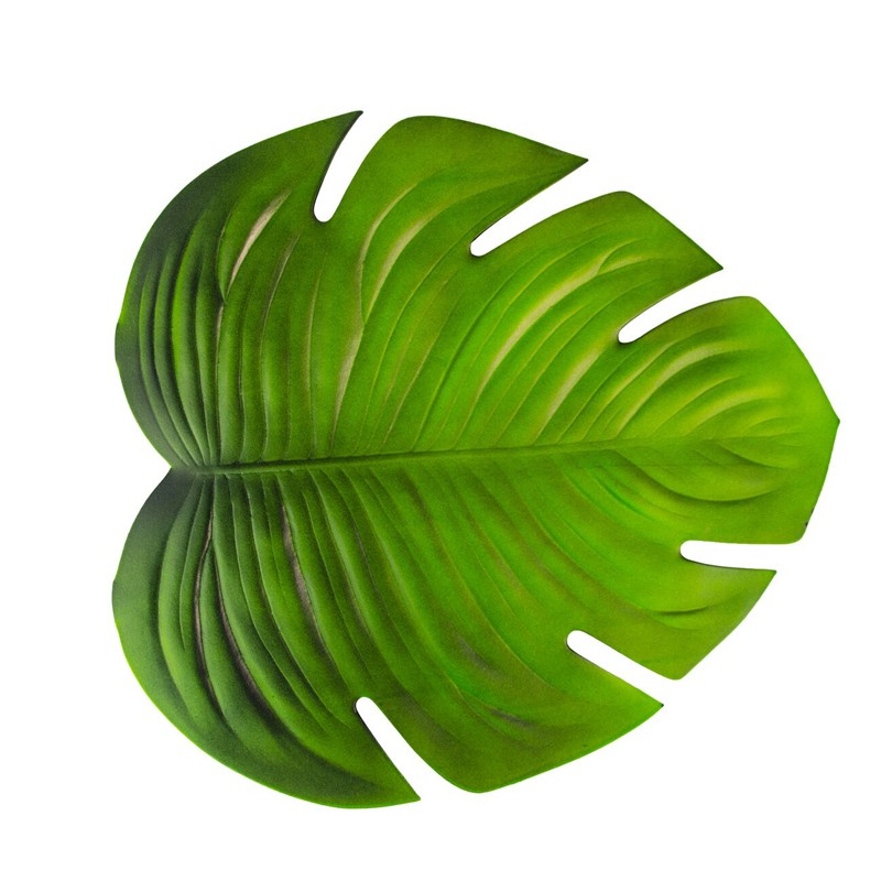 Folha Tropical Decorativa Monstera