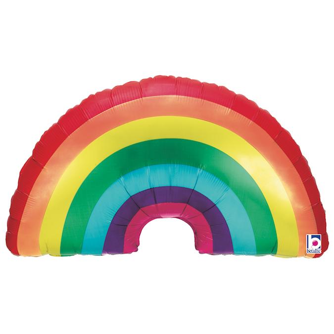 """Balão Foil 36"""" Arco-Íris"""