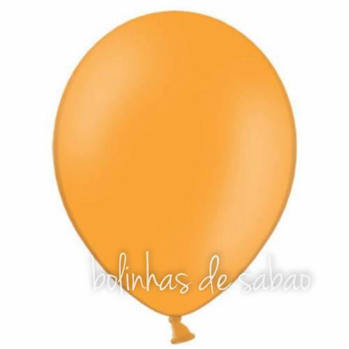 Balões Lisos 10 unidades - Laranja