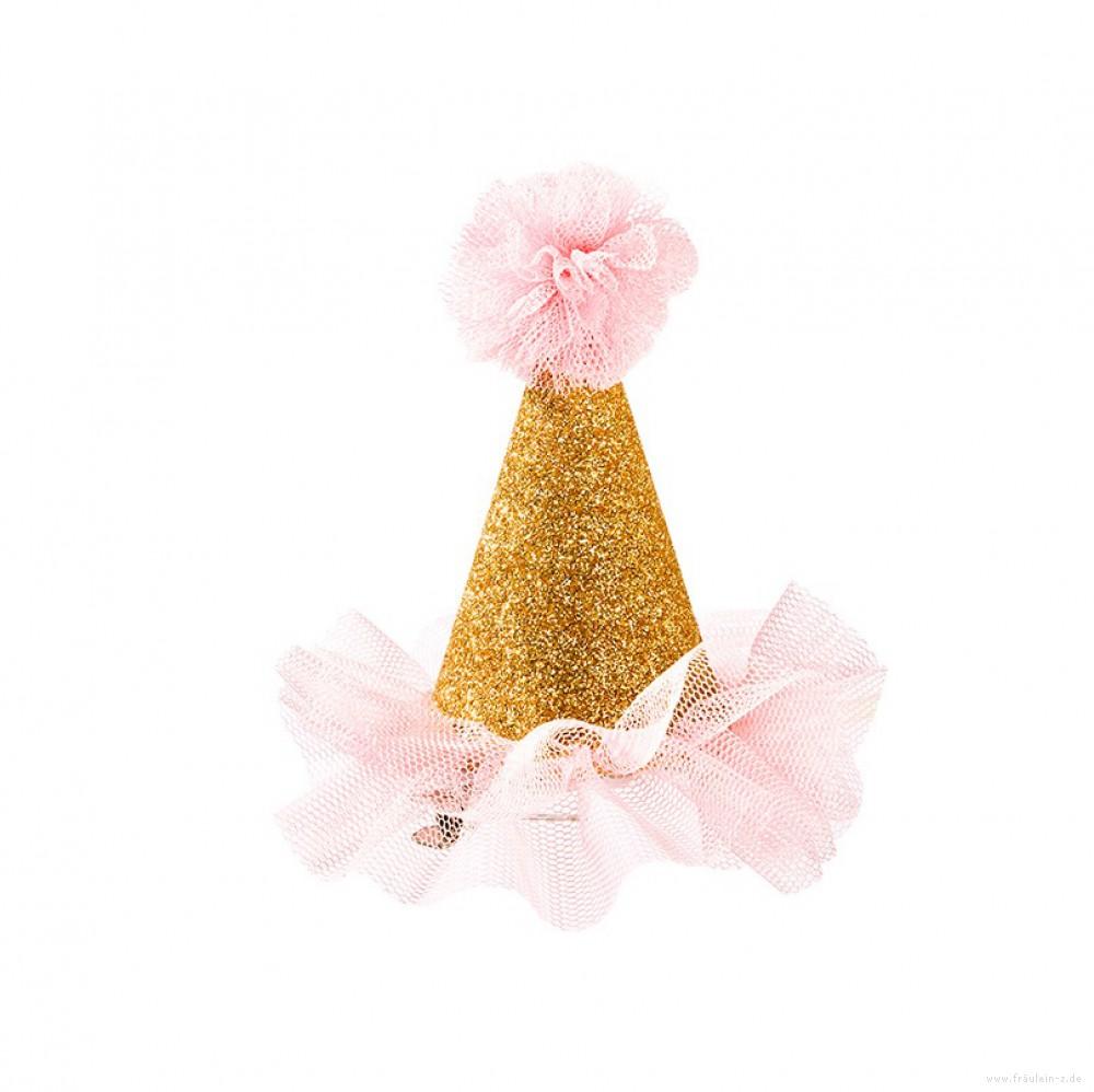 Mini Chapéu Dourado