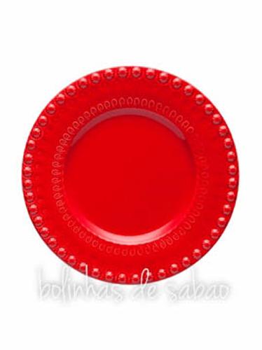 Prato Fruta - Vermelho