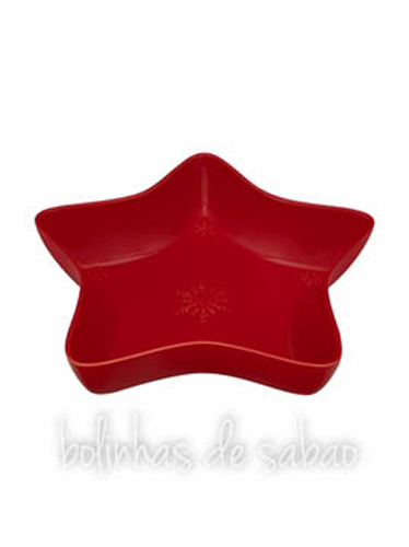Taça Estrela 37 cm - Vermelho