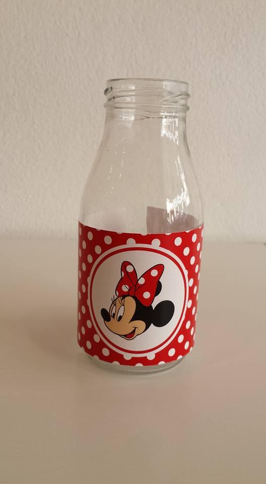 Rótulos Minnie - Vermelha