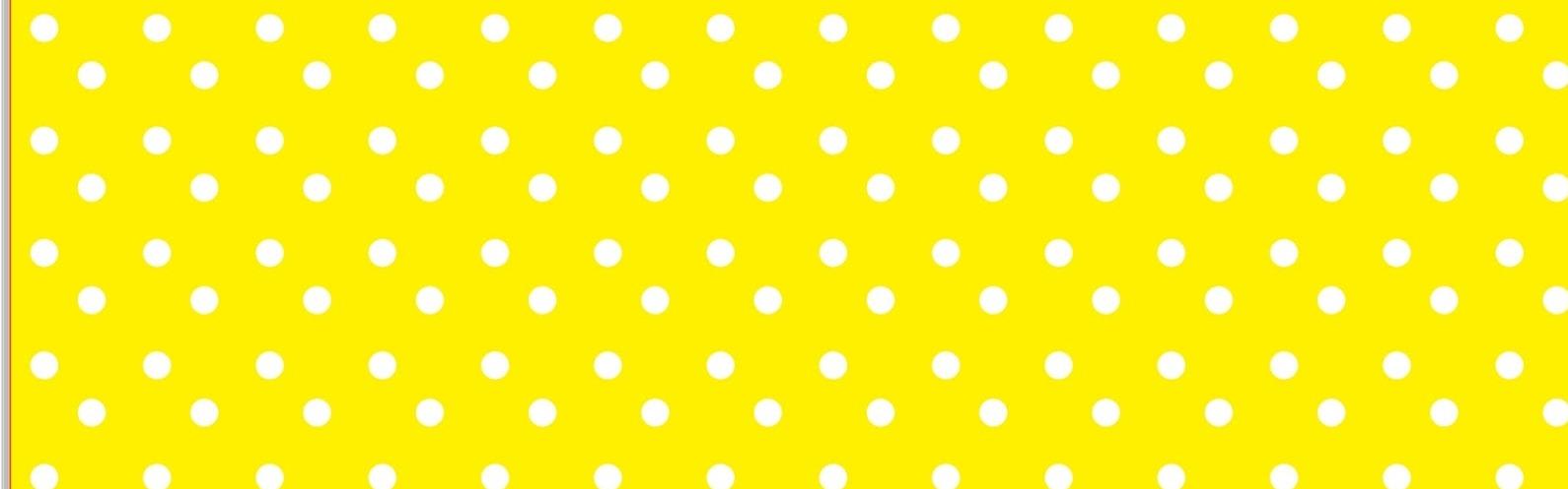 Rótulos Bolinhas 10 unidades - Amarelo