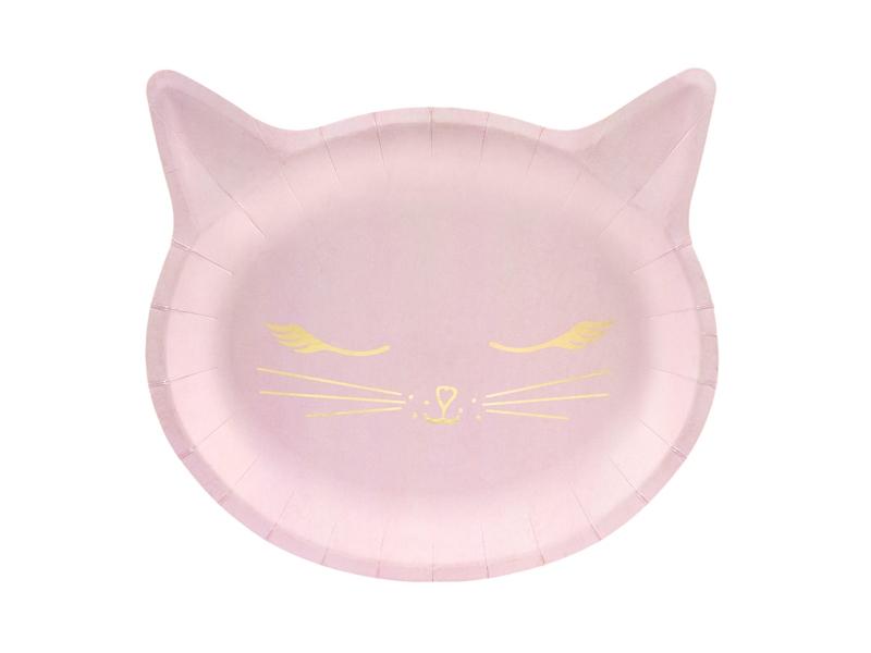 Pratos Gato Rosa