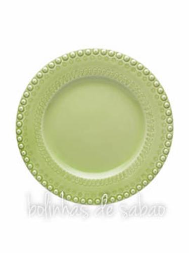Prato Raso 29 cm - Verde Alface