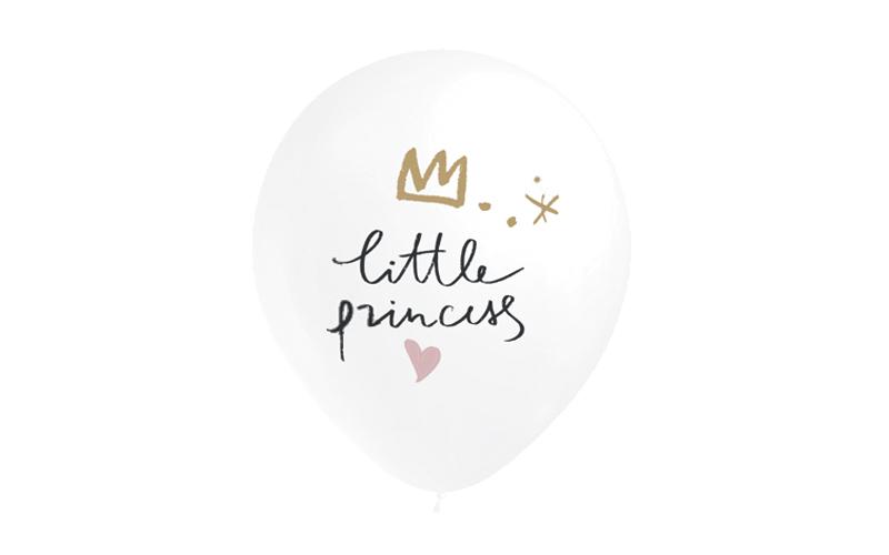 6 Balões 32cm Little Princess