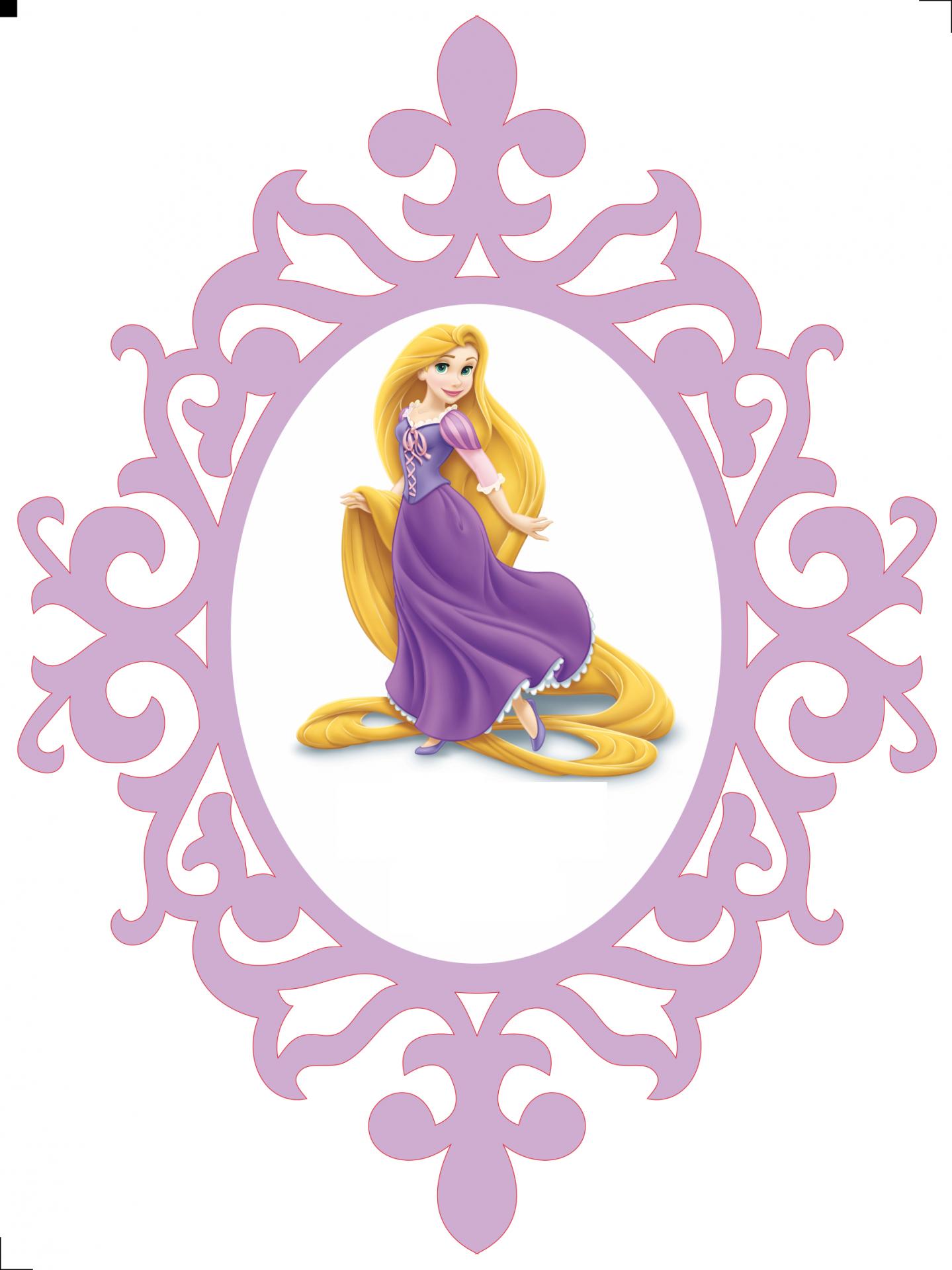 Moldura Rapunzel