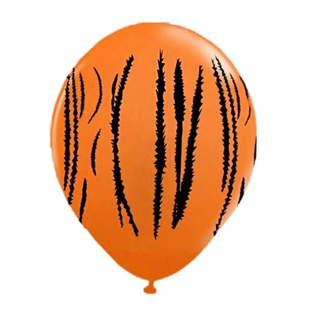 Balões látex tigrado - 5 unidades