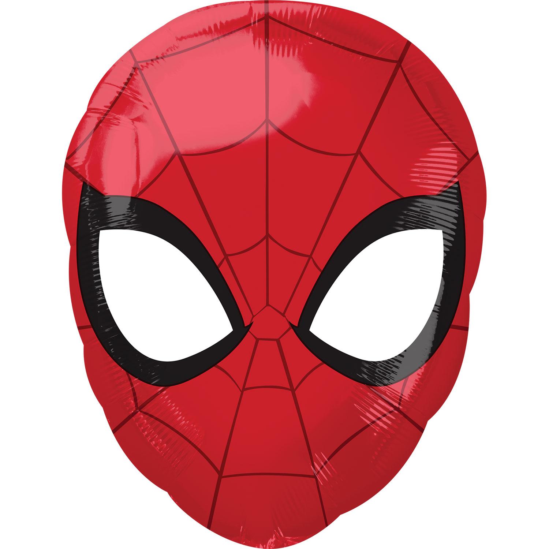 "Balão Foil 18"" Spiderman Máscara"