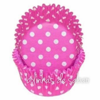 Formas Cupcakes Bolas 60 unidades -  Rosa