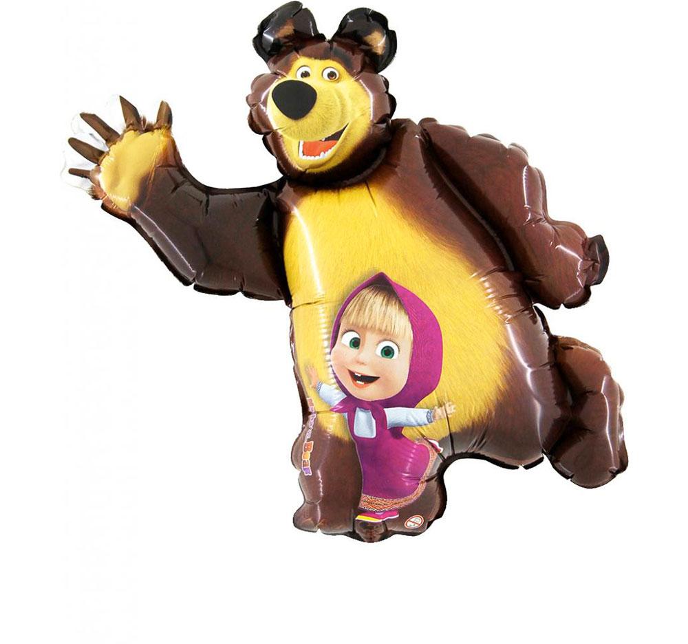 Balão Foil Supershape Masha e o Urso