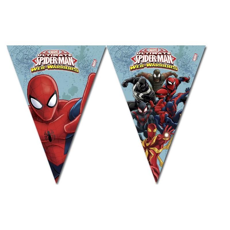 Bandeira Spiderman