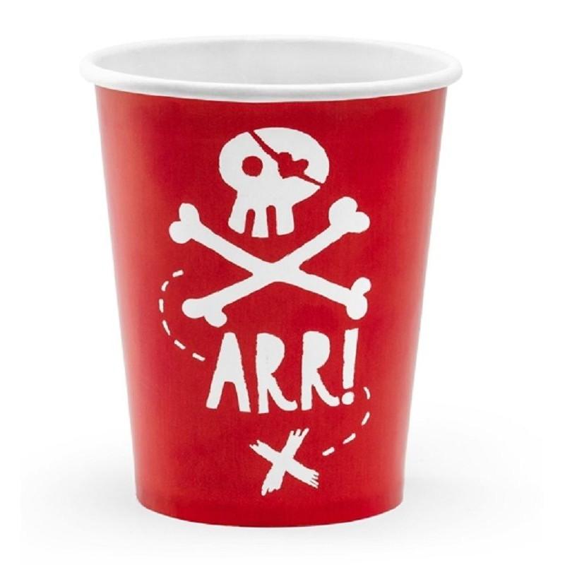 Copos Piratas Arr