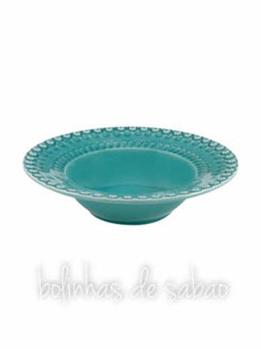 Prato Sopa 21.5 cm - Verde Água