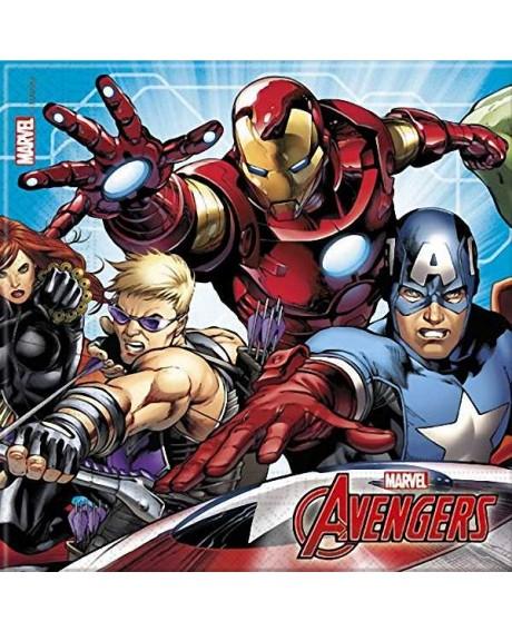 Guardanapos Avengers - 20 unidades