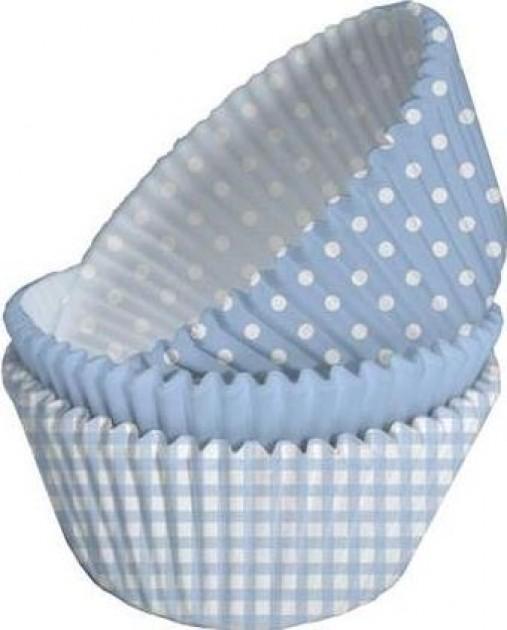 Cupcakes 75 unidades - Sortidos Azul Claro