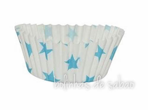 Cupcakes Estrelas - 50 unidades