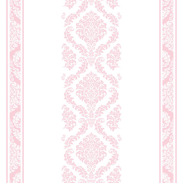 Corredor Mesa - Rosa e Branco